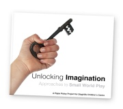 unlocking imagination book image